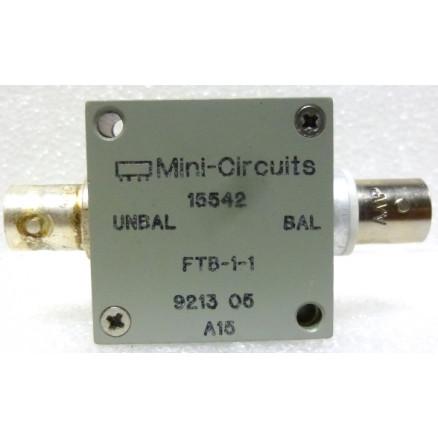 FTB-1-1 Mini-circuits, RF Transformer/Balun, 0.2-500 MHz, BNC Female, 50ohm, Mini-Circuits (Clean Used)