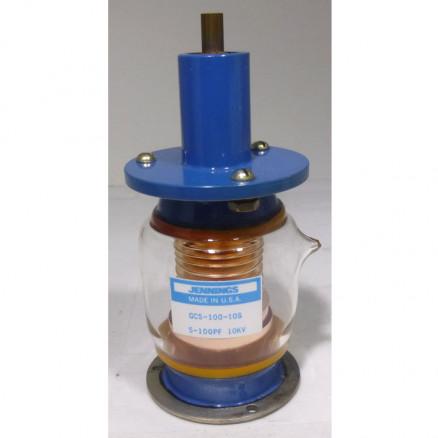 GCS-100-10S Vacuum Variable Capacitor, 5-100pf, 10kv Peak, Jennings (Clean Used)