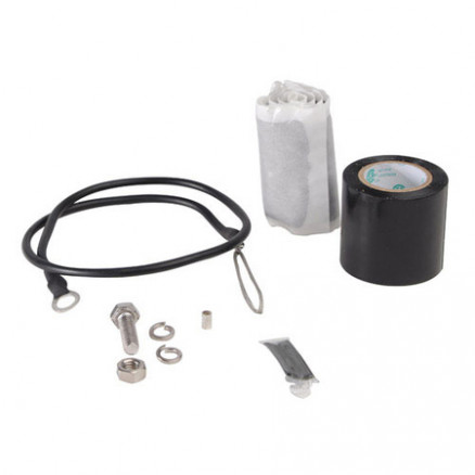 """GK-SUNV  Universal Grounding Kit for 1/4"""" through 5/8"""" corrugated cable, Andrew"""