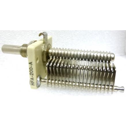 HFA200A  Variable Capacitor, 8-200pf, Hammerlund