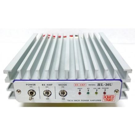 HL36U  Mobile Amplifier, 420-450 MHz, 5-30 Watts, 13.8v DC, Power Plus