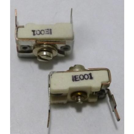 IE001  Trimmer, compression mica,  2-18pf