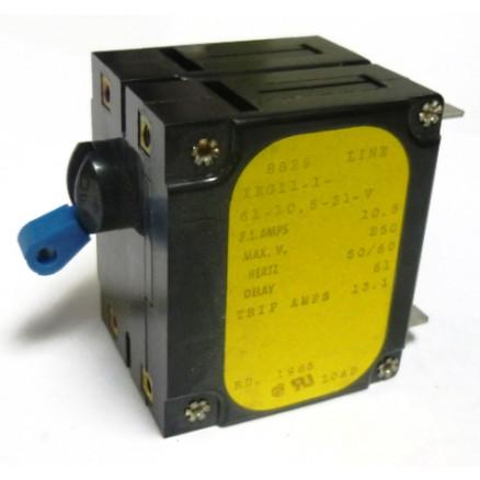IEG11-10 Circuit Breaker, Dual AC, 10.5a, Airpax