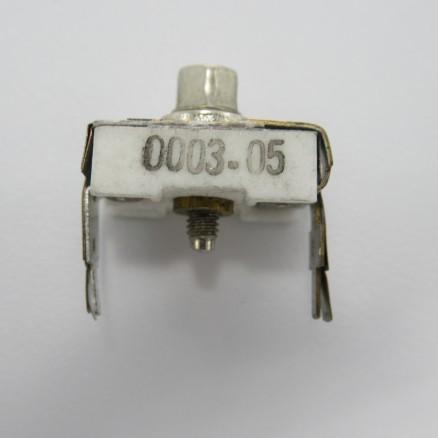 0003-05 Trimmer, Compression Mica, 25-115pF, PC Mount