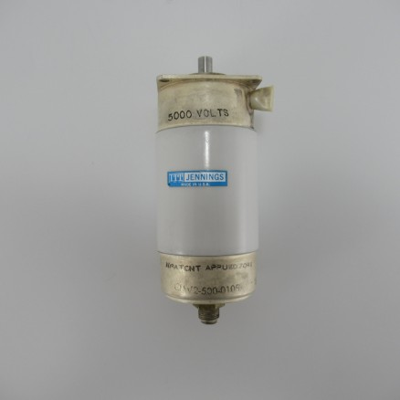 CMV2-500-0105 Jennings Vacuum Variable, 5.6-500 pf, 5KV (Clean Pull)