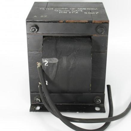ECA5027 HV Swinging Choke Transformer, 15-8 Henry, 1.5A Removed from Henry 3000D