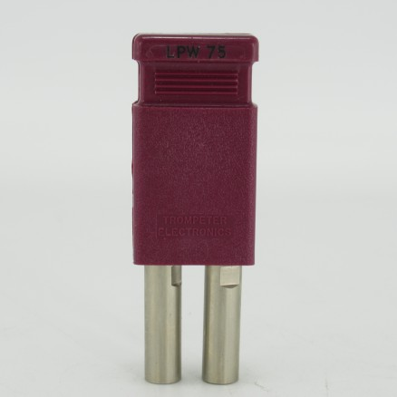 LPW-75 Trompeter,	Connector Looping Plug For WECo, Standard Connectors (NOS)
