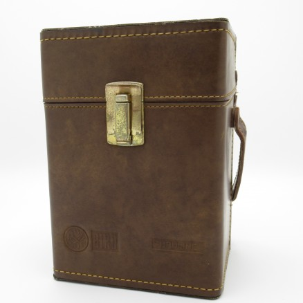 Bird Brown Leather Carrying Case for Wattmeter and Six Elements (Used Great Condition)