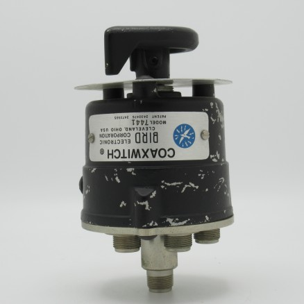 7441 Bird 3 Position Single Circuit Selector Coaxial Switch (Used Good Condition)