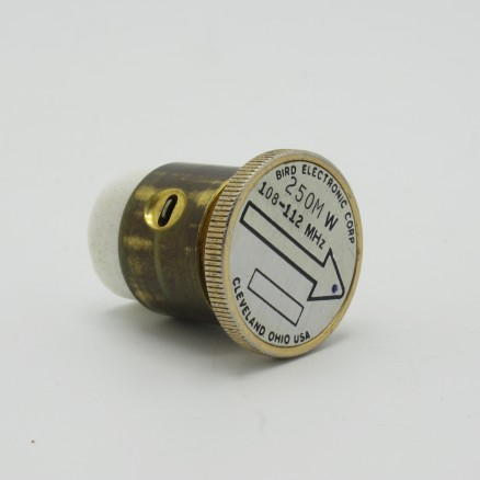 Bird 430-23 Wattmeter element , 108-112MHz 250MW (Used Good Condition)