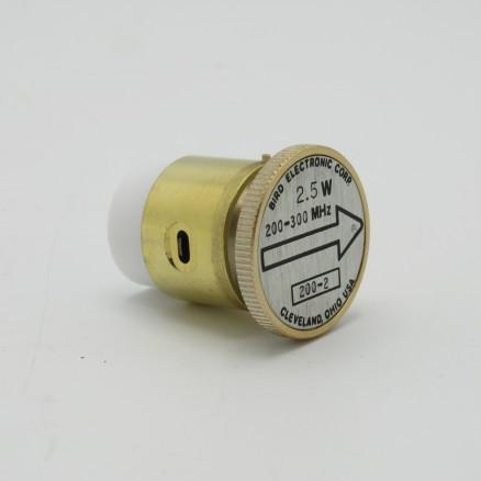 200-2 Bird Wattmeter Element 200-300mhz 2.5w (PULL)