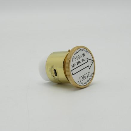 Bird 430-16 250MW 328-336 MHz Element for Bird Wattmeter (Used Excellent Condition)