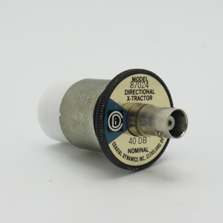 """87024 Coaxial Dynamics Signal Sampler Element for 1-5/8""""1000 W 40 +/- 1 dB50 to 500 MHz (Used Great Condition)"""