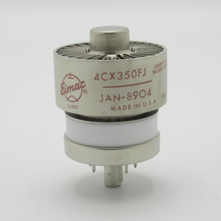4CX350FJ JAN/Eimac Transmitting Tube, 8904 / 4CX350FJ (NOS)