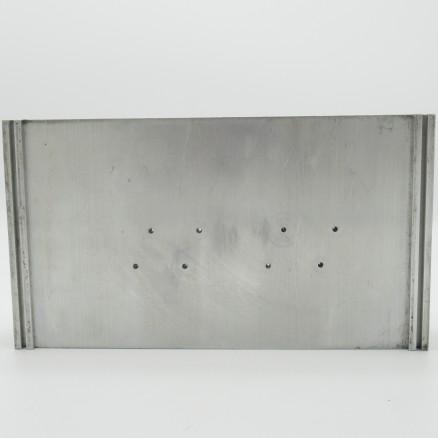 "HS75-4 Heatsink, Aluminum, 7-7/8"" x 4-3/8"" x 1-3/8"