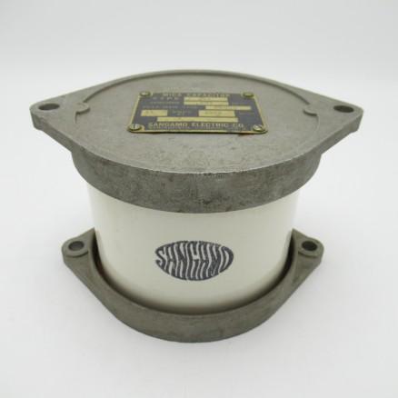 G3B Sangamo Mica Broadcast Capacitor, .001mfd, 20kv, 13 Amps, (Pull)