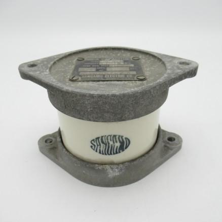 CM80B102K  Sangamo Mica Broadcast Capacitor, Type G2B, .001mfd, 10kv, (Pull)