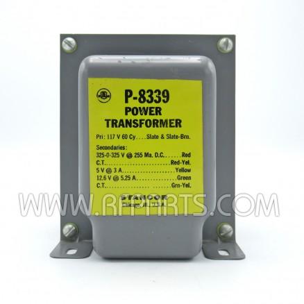 P-8339  Stancor Power Transformer 117VAC, 650v CT@300ma  (NOS)