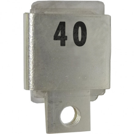 Metal Cased Mica Capacitor, 40pf, 350v, FW (J101-40A)
