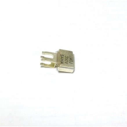 Metal Cased Mica Capacitor, 40pf, 350v, Saha (J101-40F)