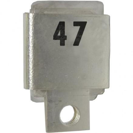 J101-47  Metal Cased Mica Capacitor, 47pf