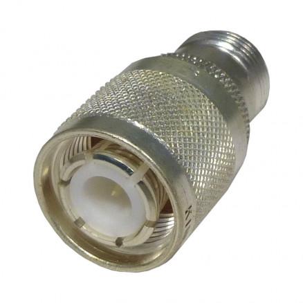 KN-99-09  HN Between Series Adapter, HN Male to Type-N Female, Kings (Clean Used)