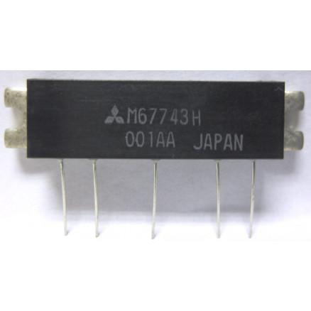 M67743H Mitsubishi Power Module 17W 77-88 MHz (NOS)