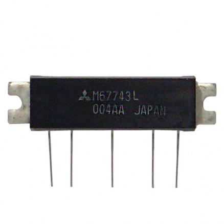 M67743L Power Module, 7w, 68-81 MHz, Mitsubishi