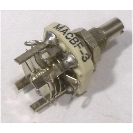 MACBF3 Variable Capacitor, Panel Mount, 1.3- 3.1 pf, Hammarlund