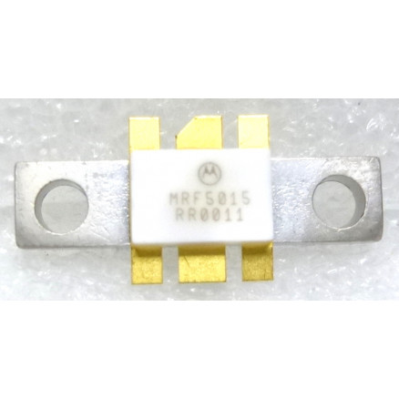MRF5015 RF Power Field Effect Transistor, RF Mosfet, N–Channel  Enhancement–Mode, 512 MHz, 15 W, 12 5 V, Motorola