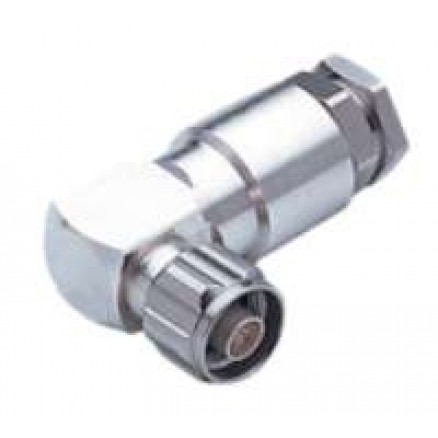 NM50VL12  Type-N Male Right Angle connector for EC4-50 Cable, Eupen