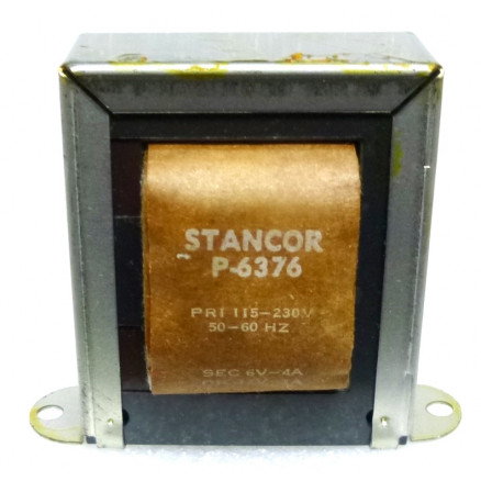 P-6376 Low voltage transformer, 115/230VAC, 12v, 2 amp, Stancor