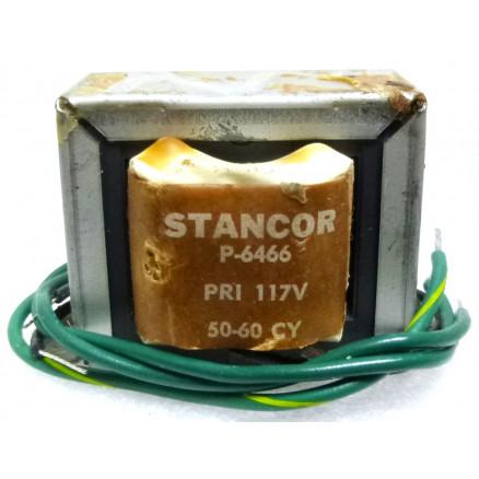 P-6466 Low voltage transformer, 117VAC, 6.3v C.T., 3 amp, Stancor