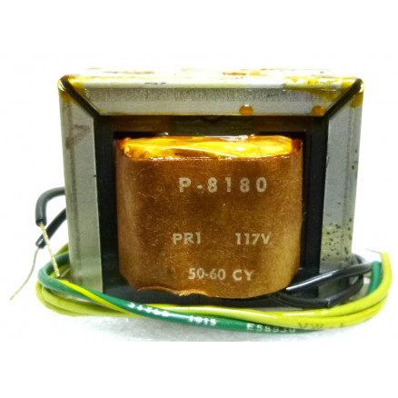 P-8180 Low voltage transformer, 117VAC, 25.2v C.T., 1 amp, Stancor