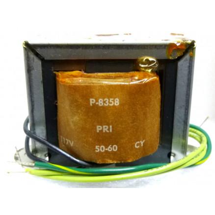 P-8358 Low voltage transformer, 117VAC, 12.6v C.T., 3 amp, Stancor