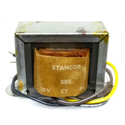 P-8380 Low voltage transformer, 117VAC, 10v C.T., 3 amp, Stancor