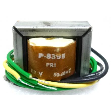 P-8395 Low voltage transformer, 117VAC, 24v C.T., 0.2 amp, Stancor