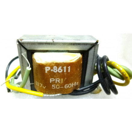 P-8611 Low voltage transformer, 117VAC, 36v C.T., 0.135 amp, Stancor