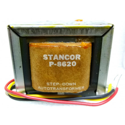 P-8620 Low voltage transformer, 230VAC, 115v, 0.43 amp, Stancor