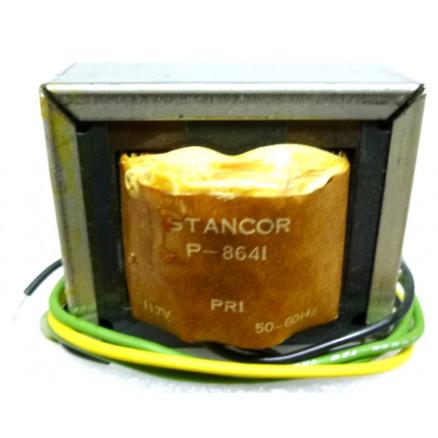 P-8641 Low voltage transformer, 117VAC, 12.6v C.T., 4 amp, Stancor
