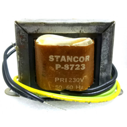 P-8723 Low voltage transformer, 230VAC, 24v C.T., 0.7 amp, Stancor