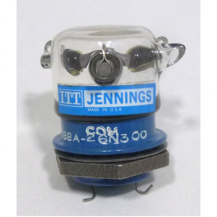 RB8A-26N300  Vacuum Relay, SPDT 26.5v, 270Ω, Jennings (Clean Pullout)