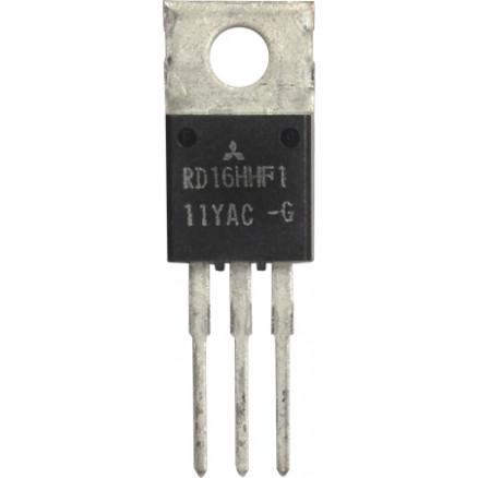 RD16HHF1-501 Transistor, 16 watt, 30 MHz, 12.5v, Mitsubishi