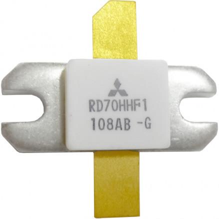 RD70HHF1 Transistor, 70 watt, 30 MHz, 12.5v, Mitsubishi