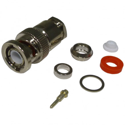 RFB1101-1P  BNC Male Clamp Connector, Cable Group P, RFI