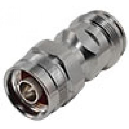 RFD43F-NM  Between Series Adapter, 4.3-10 Female to Type-N Male, RFI