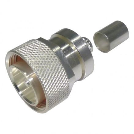RFD-1604-2L2 7/16 RF Industries DIN Male Crimp Connector