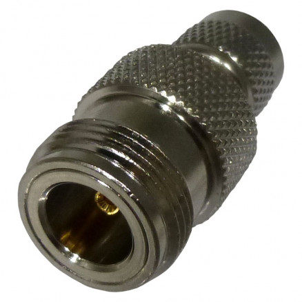 RFU620 Between Series Adapter, Mini-UHF Male to Type-N Female, RF Industries