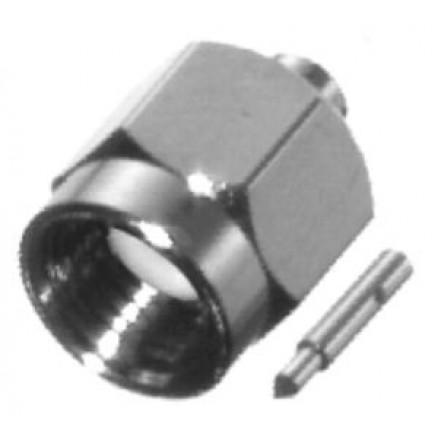 RSA3500-1-085 SMA Male Connector, .085 Semi Rigid, RFI