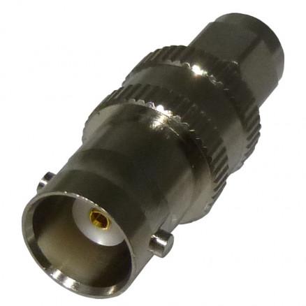 RSA3458 Between Series Adapter, SMA Male to BNC Female, Straight, RFI